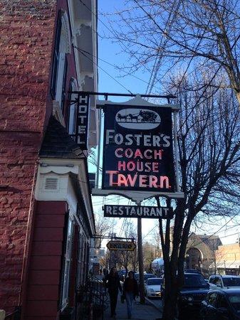 Foster's Coach House: Entrance