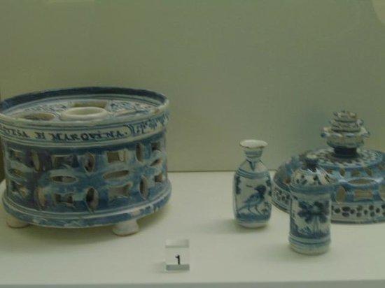 Museo de Santa Cruz: peças decorativas