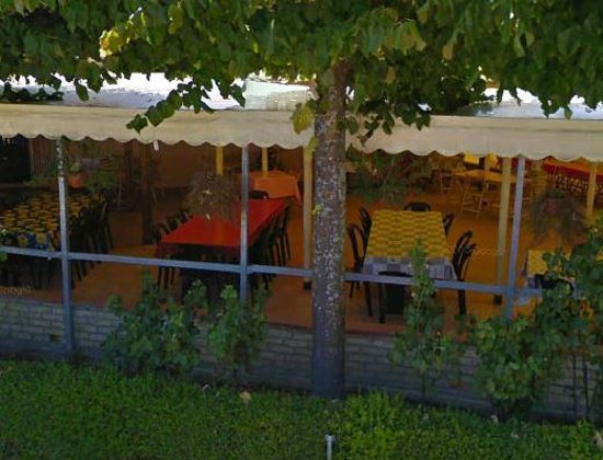 Il Casolare: Outside Covered Terrasse