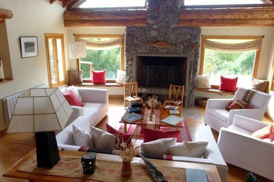Challhuaquen Lodge: Ingreso