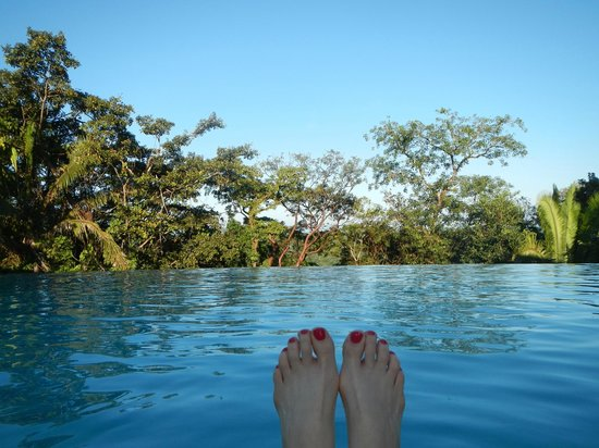 Punta Gorda, Belize: View from Ridge Suites pool