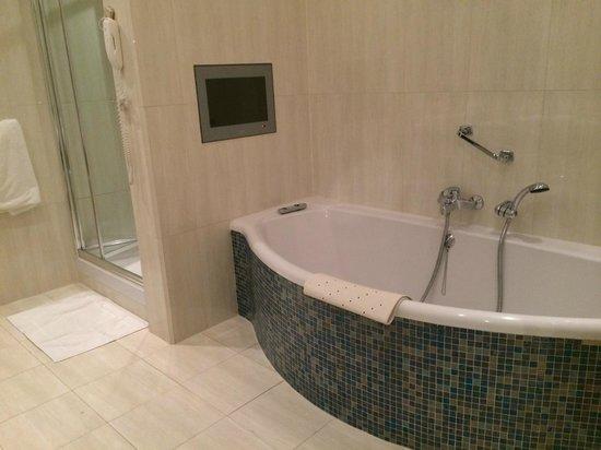 The Killarney Park Hotel: I wish i had enjoyed this bath tub :-(