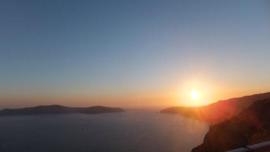 Santorini Princess: Sunset