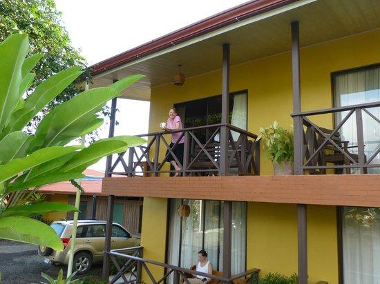 Hotel Bijagua: Our balcony