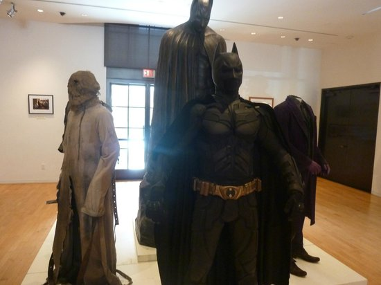Warner Bros. Studio Tour Hollywood: Batman costumes from The Dark Knight