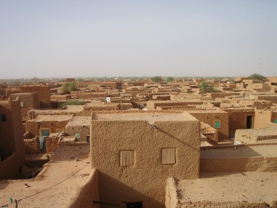 Agadez, Niger : Le vieux quartier