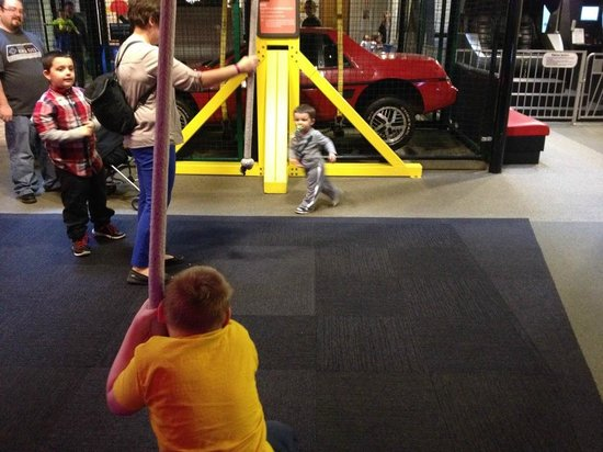 Adventure Science Center: Lifting a Fiero