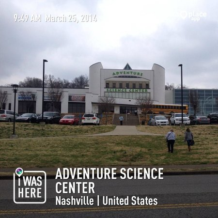 Adventure Science Center : Exterior