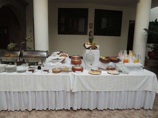 Terra Andina Hotel: desayuno