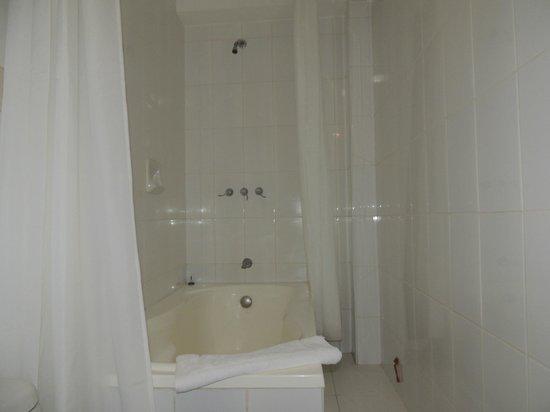 Terra Andina Hotel: Ducha, el agua sale caliente y con buena presión