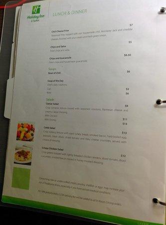 Holiday Inn Hotel & Suites Anaheim (1 BLK/Disneyland): Onyx menu