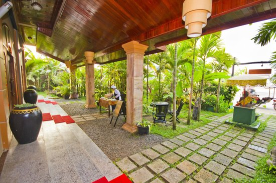 Gloria Angkor Hotel: View Garden