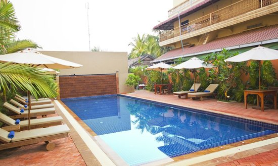 Gloria Angkor Hotel: Swimming Pool