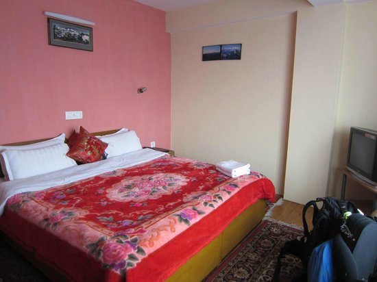 Snow Lion HomeStay: Bed