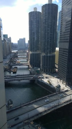 Club Quarters Hotel, Wacker at Michigan: View from hotel