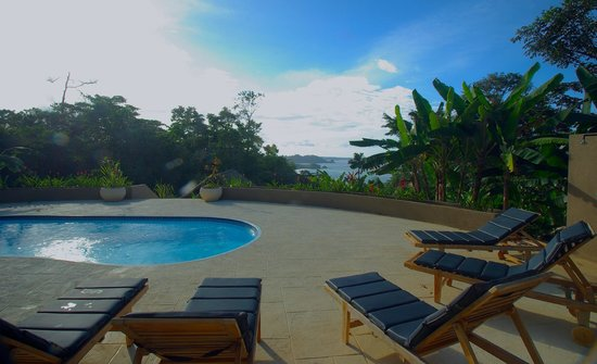 Red Frog Beach Island Resort & Spa: View from Jungle Lodge pool