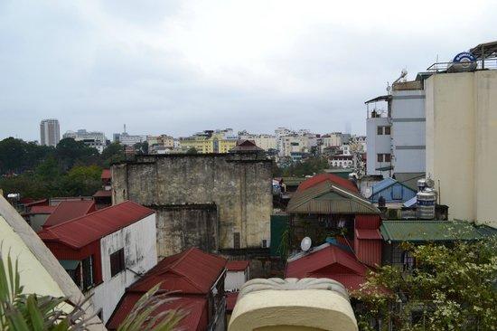 Hanoi Meracus Hotel 1: view from suite