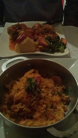 Sazone : The arroz con pollo tastes just like Abuela's!