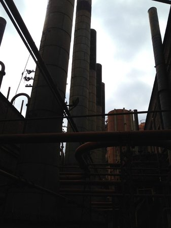 Sloss Furnaces National Historic Landmark : walking through