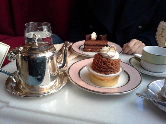 Ladurée Bonaparte : mont blanc, élysée chocolat