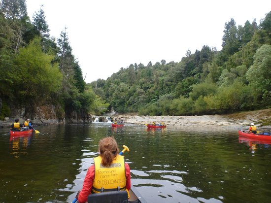 Taumarunui Canoe Hire and Jet Boat Tours : On the river