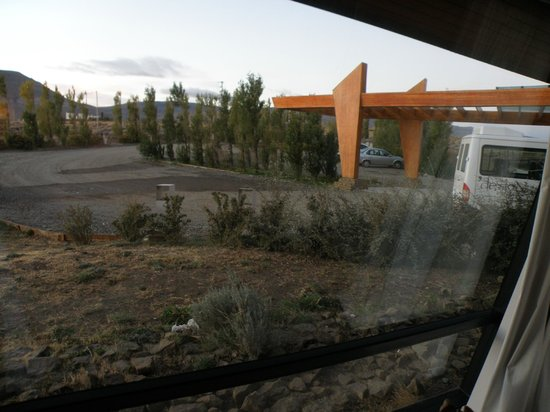 """Design Suites Calafate: The """"view"""" from our """"standard"""" room."""