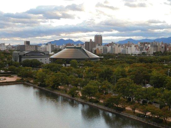 Hiroshima Castle: 天守閣からの眺め