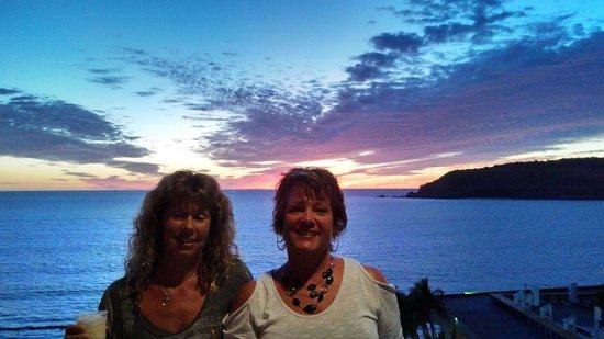 El Cid Castilla Beach Hotel: sunset from the room