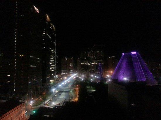 Hotel Carioca : E essa vista do 11○ andar...