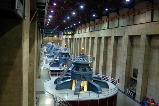Dean Outdooor Adventures : Nevada generator room