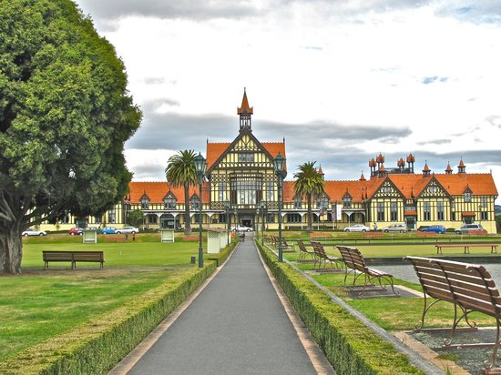 Novotel Rotorua Lakeside: Museum in the park