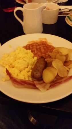 The Grosvenor Hotel : Breakfast