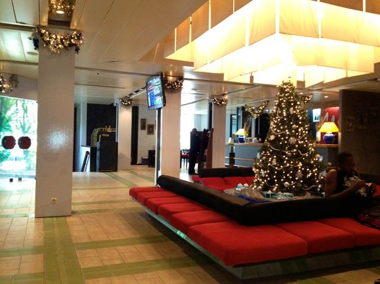 Pullman Douala Rabingha: Lobby Area