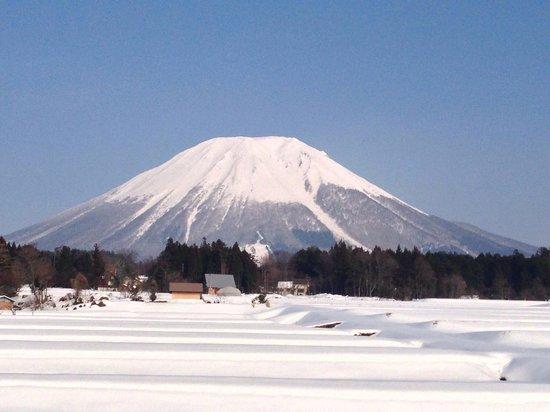Mt. Daisen: 2月の大山。