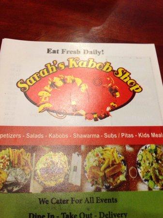 Sarah's Kabob Shop: Sarah's