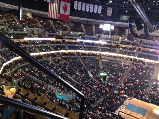 Pepsi Center: Lots of seating