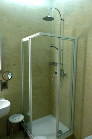 Opera Suites: Shower in bathroom
