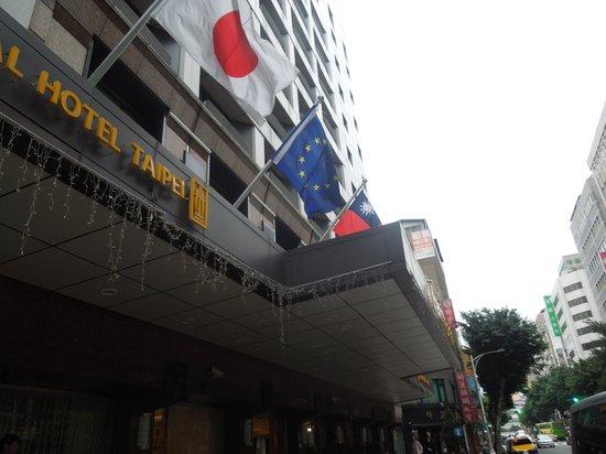 Imperial Hotel Taipei : ホテル外観