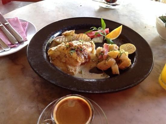 Cactus Restaurant: Завтрак: омлет а-ля Борнео
