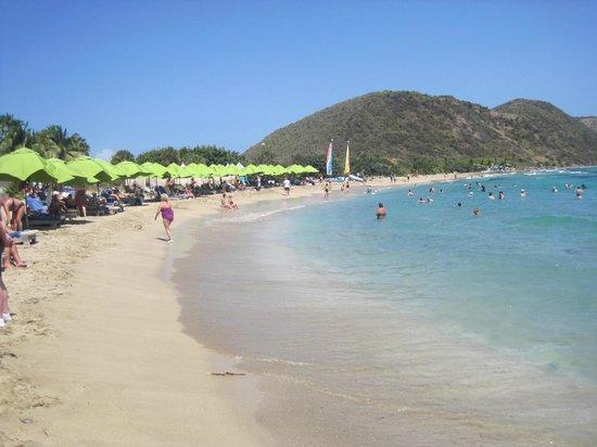 Island Paradise Tours: Friars Bay beach