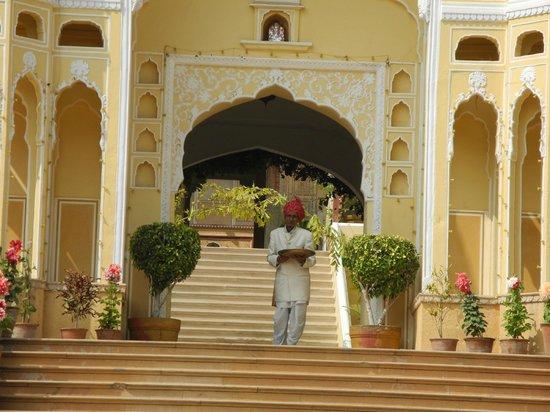 Samode Palace : 72yo greets all