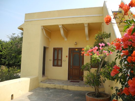 Samode Palace : Accommodation over garage