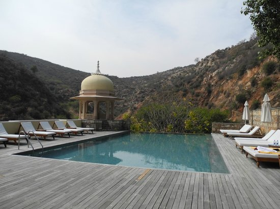 Samode Palace : poolside