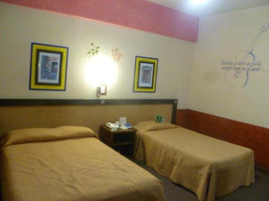 Posada Viena Hotel : Наш двухместный номер