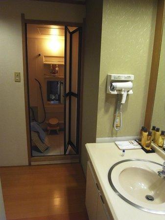 Kizantei Hotel: バスルーム