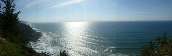 Cape Perpetua Scenic Area : Panoramic View at Cape Perpetua