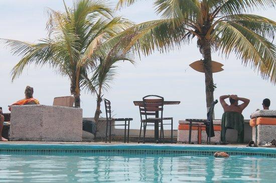 Bigfoot Beach Hostel: pool