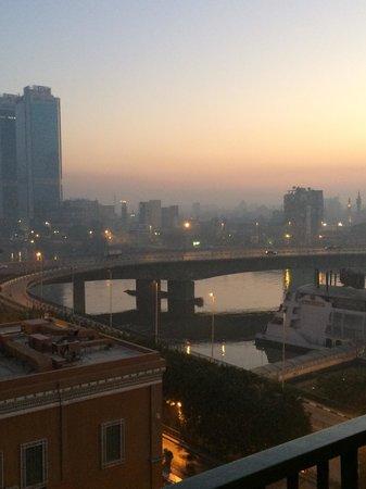 Cairo Marriott Hotel & Omar Khayyam Casino : View from room