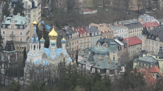 Diana Lookout Tower : вид на православный собор