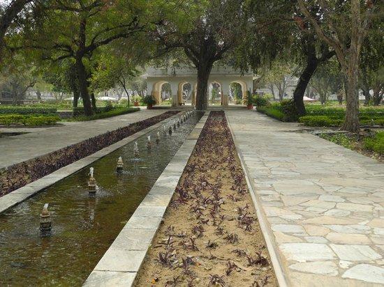 Samode Bagh : entrance